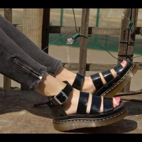 dr martens clarissa sandal black, Dr.+martens+industrial dr